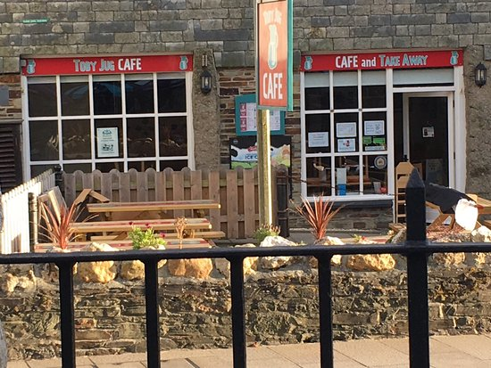 Boscastle, UK: Top marks for the Toby Jug Cafe