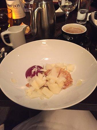 Den Lille Fede Restaurant : 7 course menu...