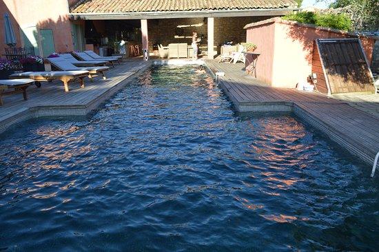Le Mas de Gleyzes: piscine de la maison d'hôte