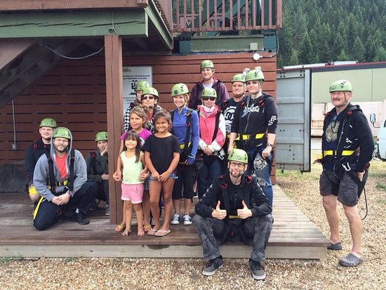 Treetop Flyers Zipline at Chase Canyon: photo1.jpg