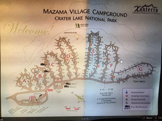 Mazama Village Campground Reviews Crater Lake National Park OR