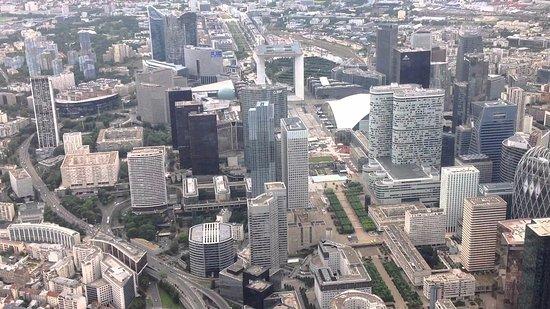 Aerial View Of La Defense Picture Of La Defense Paris