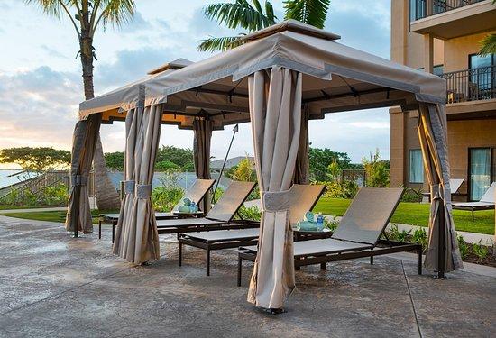 outdoor pool cabanas picture of residence inn by marriott maui rh tripadvisor com