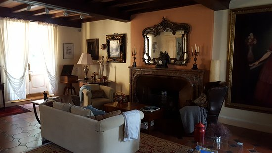 Saint-Affrique-les-Montagnes, Frankrike: The living room of the house