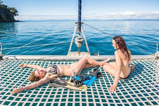 Whakatane, Nueva Zelanda: Enjoying the Sun