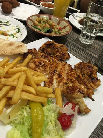 Very tasty arabic food picture of ayam zaman london for Arabic cuisine food