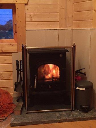 Newcastleton, UK: Wood Burner