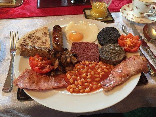 Newcastleton, UK: Full Breakfast