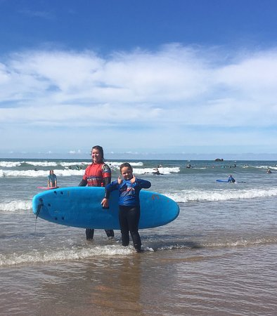Raven Surf School: Thumbs up