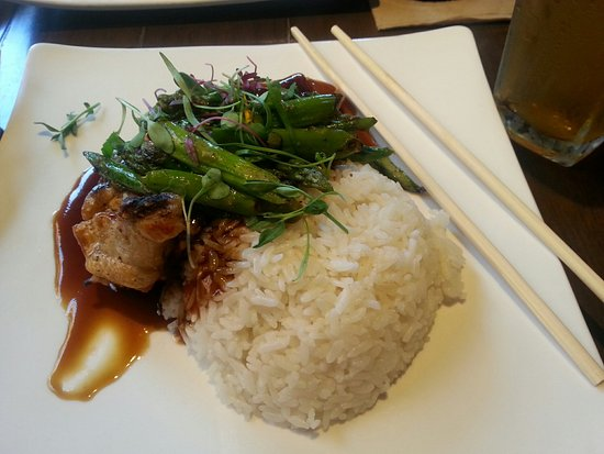 Harney Sushi: Teriyaki Chicken with Rice