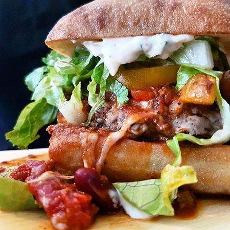 Thorold, Canadá: Gourmet burgers