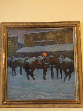 Trinidad, CO: One of Mitchell's most famous paintings.