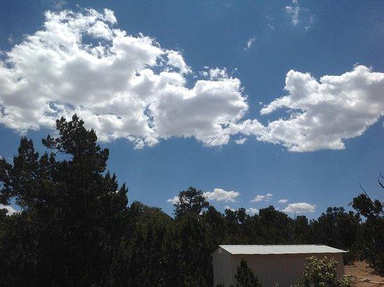 Overgaard, AZ: Awsome color blue....