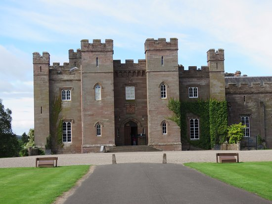 Perth, UK: Ingresso al castello