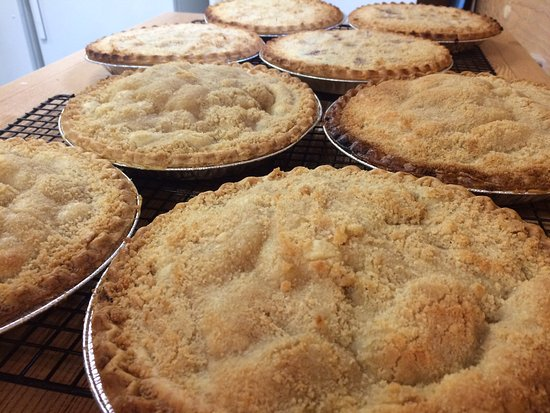 Cantwell, AK: Pies out of the oven!