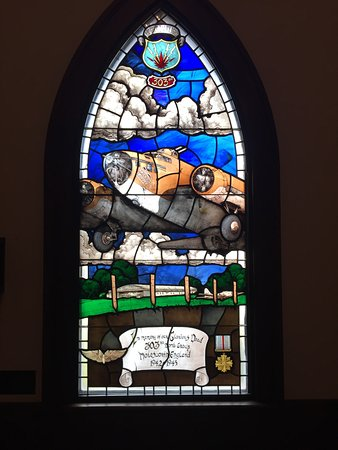 Pooler, GA: Stain Glass in the Chapel