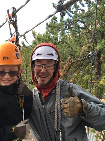 Buena Vista, CO: Ziplining