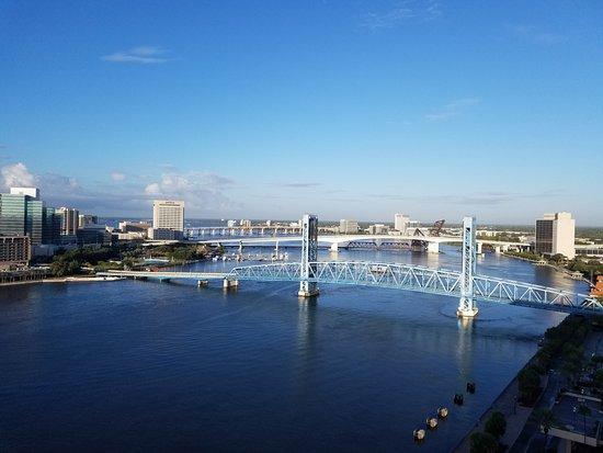 Hyatt Regency Jacksonville Riverfront: view from room 1962