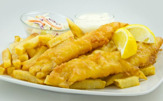 St. Catharines, Canada : Union Jack fish & Chips