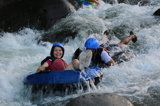 Image result for rio celeste tubing tour