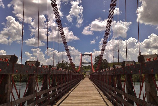 Alves de Lima Suspension Bridge