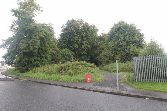 Carrickfergus, UK: Oakfield Drive foot entrance.