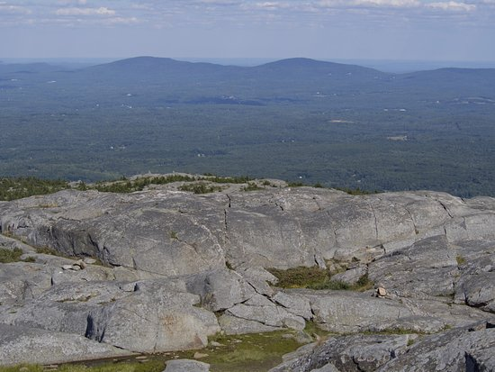 Jaffrey, NH: The view from the top is worth it