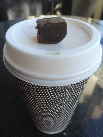 Te Awamutu, New Zealand: Generous sized coffee!