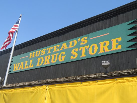 Wall, SD: The actual store