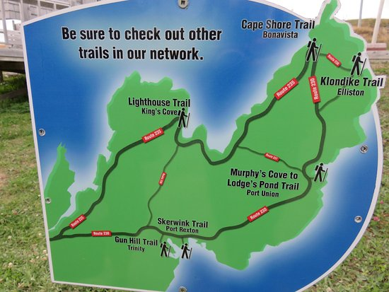 Captain Blackmore's Heritage Manor: Port Union/Bonavista - great trails!
