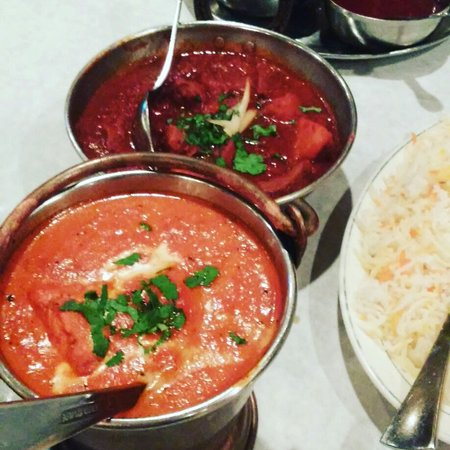 Plantation, Флорида: Chicken Tikka Masala and Lamb Vindaloo