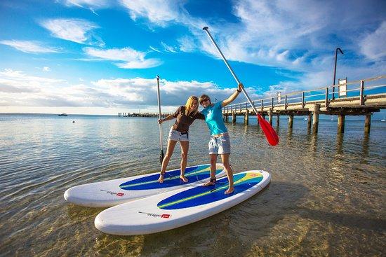 Hervey Bay, Australia: Stand Up Paddleboarding