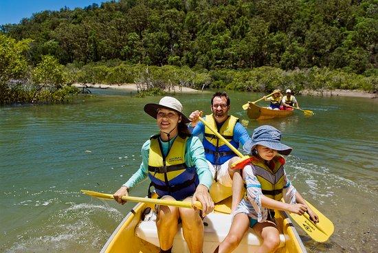 Hervey Bay, Australia: Ranger Guided Canoe Paddle