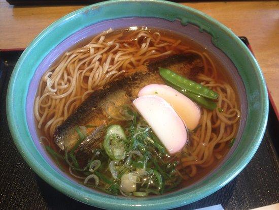 Shirakawa-cho, Japón: 道の駅美濃白川 にしん蕎麦