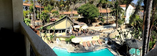 Catalina Canyon Resort & Spa: The pool area and grounds are nicely landscaped.