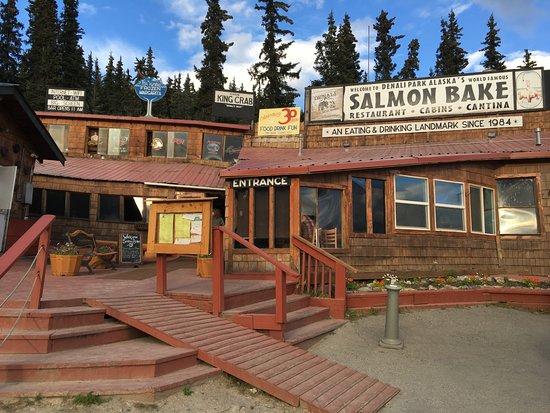 Denali Park Salmon Bake : So good!