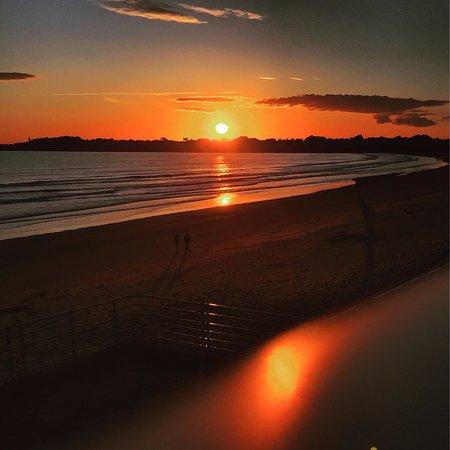 theo spot coucher de soleil vue de la terrasse du spot - Spot De Terrasse