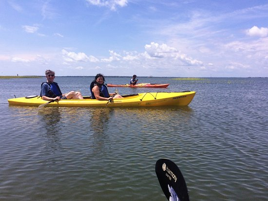 Mount Pleasant, Carolina del Sur: Paddling with Matt