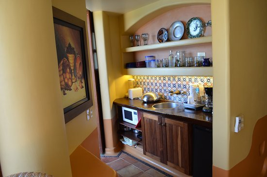 Embarc Zihuatanejo: kitchenette