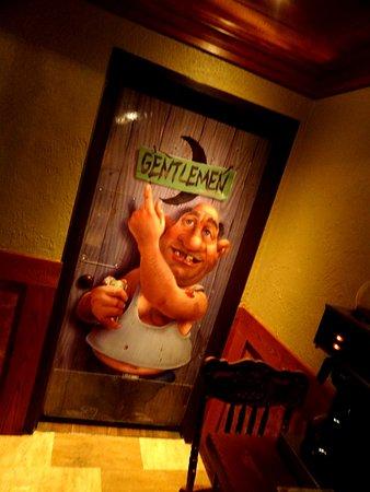 Уилльямсвилль, Нью-Йорк: Luv the bathroom door
