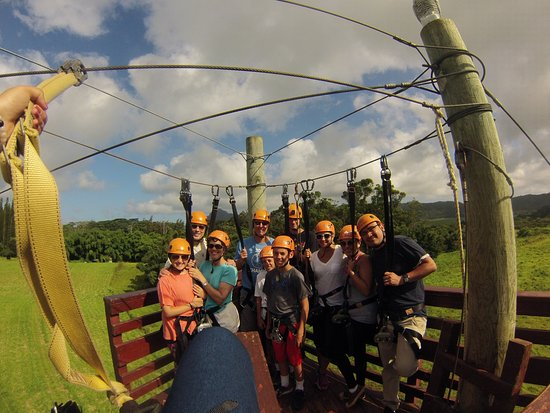Just Live! Zipline Tours: My group had young and old in it. Everyone had a great time.