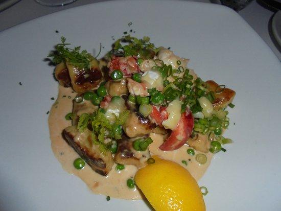 Wiscasset, ME: Lobster gnocchi special