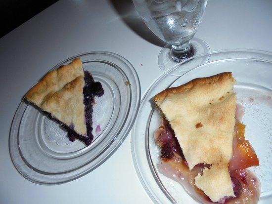 Wiscasset, ME: homemade pie for dessert