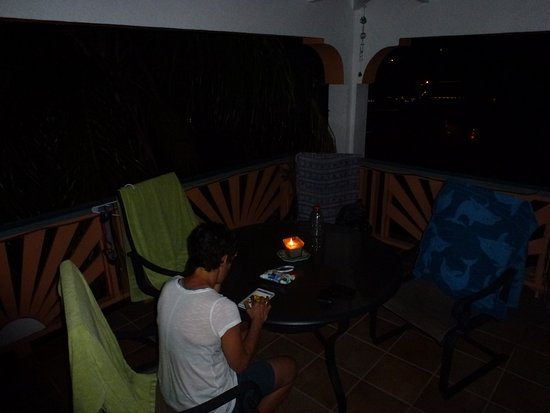 Guava Road Apartments: Evening on the balcony.
