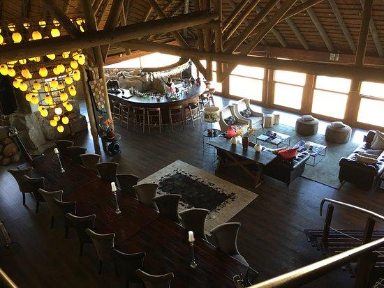 Ulusaba Safari Lodge: Dining room