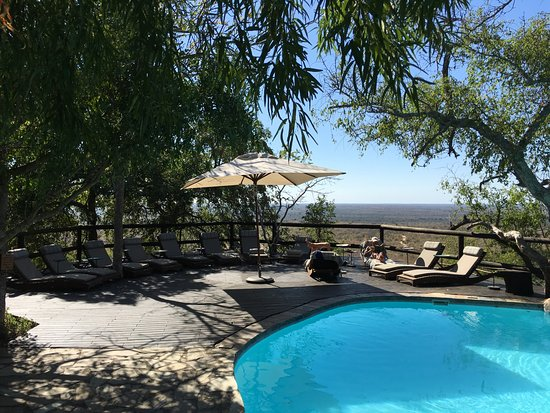 Ulusaba Safari Lodge: Cliff poo