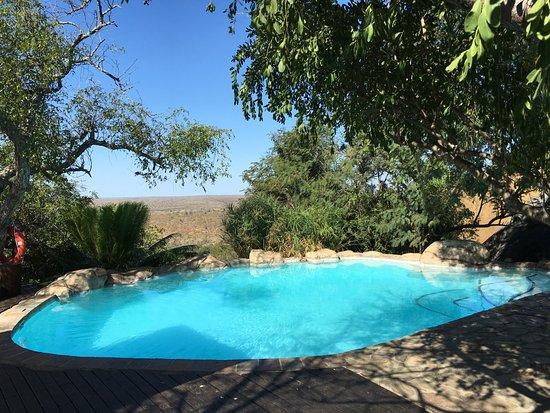 Ulusaba Safari Lodge: Cliff pool