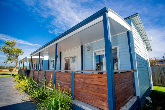 Port Fairy, Australia: External Cabin Shot
