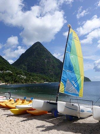 Vieux Fort, St. Lucia: Sugar Beach