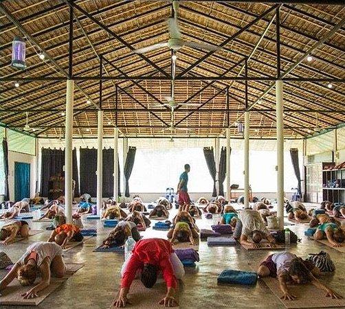 Agama Yoga: Aula de yoga